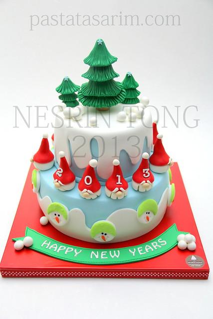 chiristmas cake - 2013