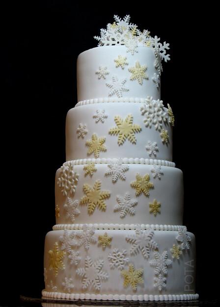 wciWedding cake Hiver