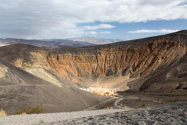 Cráter Ubehebe, Parque Nacional del Valle de la Muerte, California