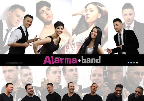 Alarma 2013 - orquesta - cartel