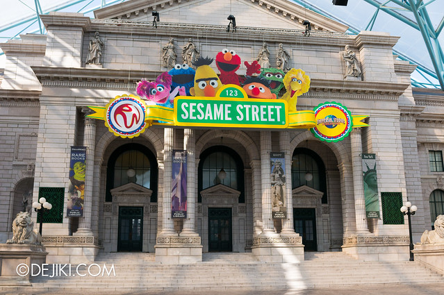 New York Library - Sesame Street overlay