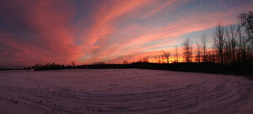 trees winter sky panorama snow nature clouds sunrise landscape vermont iphone5 iphoneography uploaded:by=flickrmobile flickriosapp:filter=nofilter