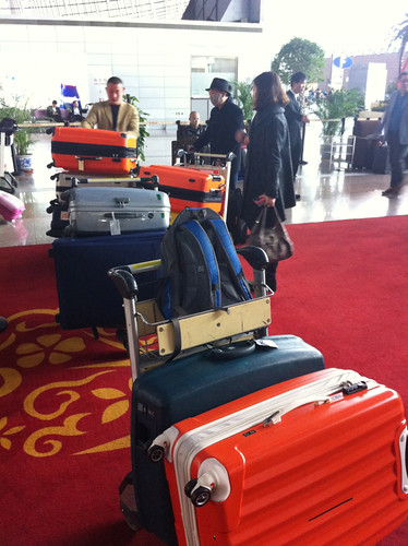 We brought 10 big and 4 small suitcases to Vancouver