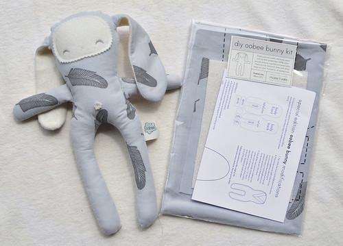 DIY oobee bunny kits