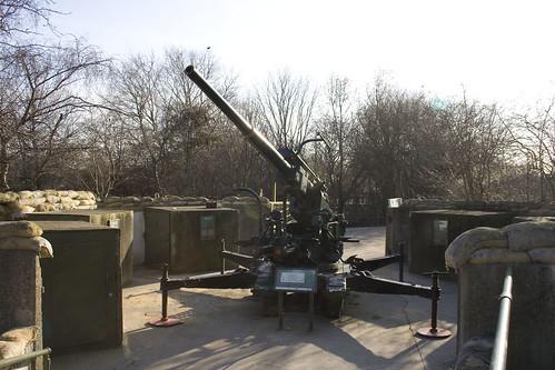 Gun emplacement at Mudchute Park