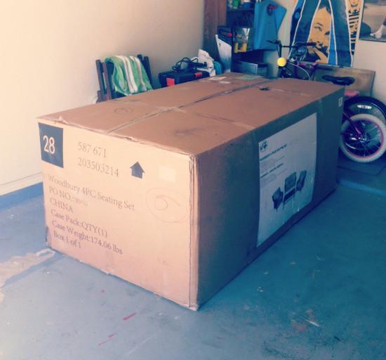 home depot box