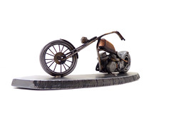 Panhead Chopper Sculpture(bike #188)
