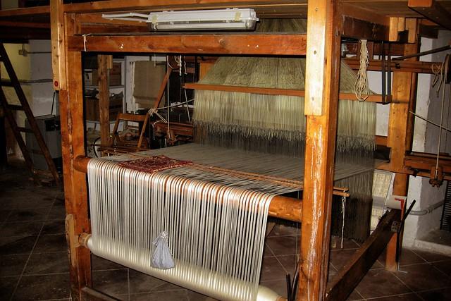 brozzetti italian textiles loom