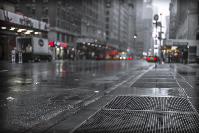 rainy street 3