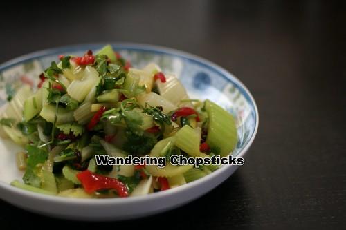 Sichuan Szechwan Celery Salad 10