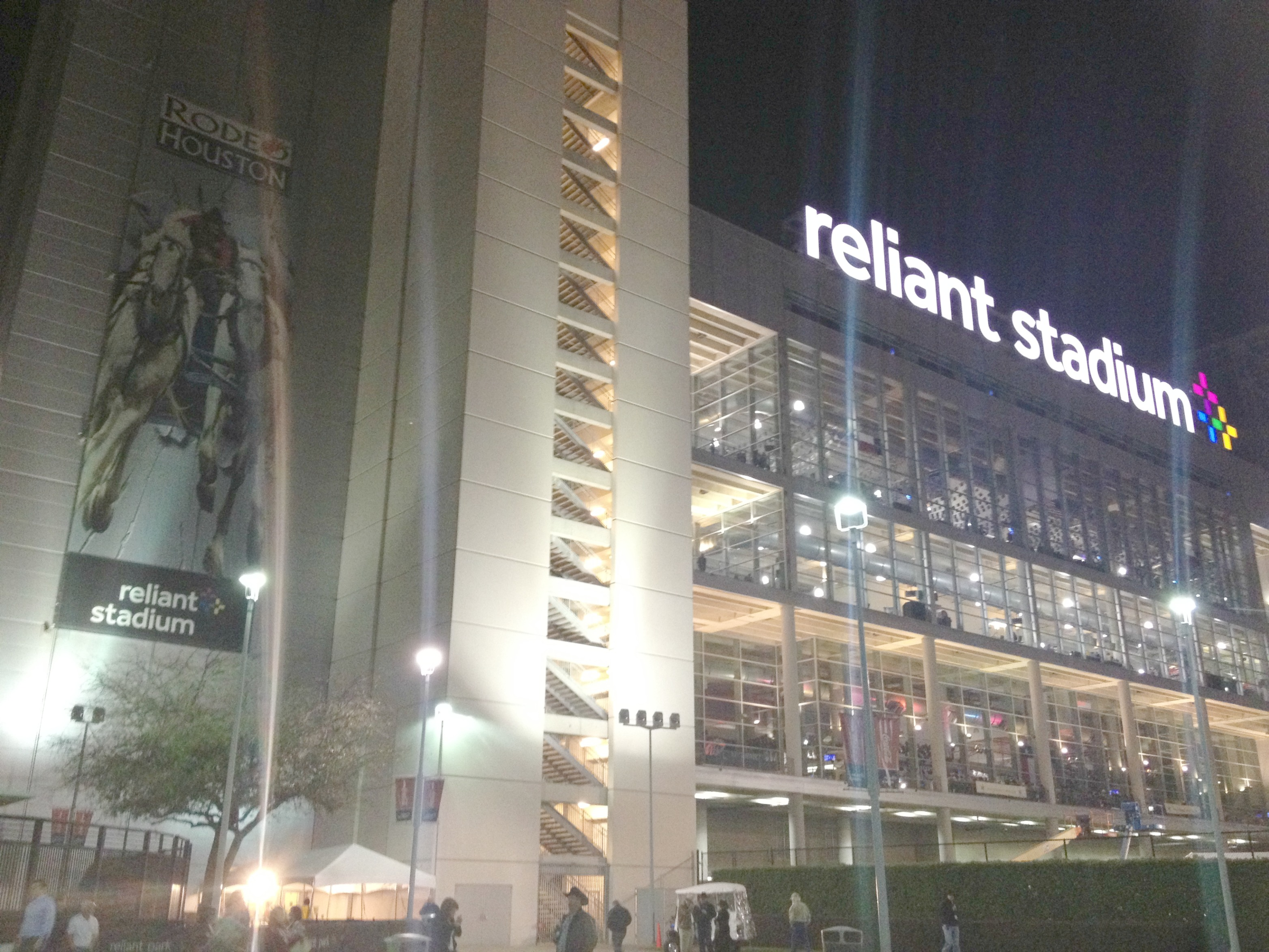 Reliant Stadium is a beauty