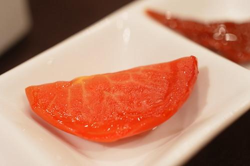 semi dry tomato