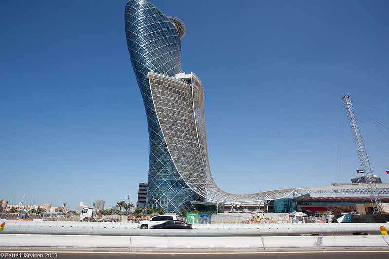 Capital Gate, expo center, Abu Dhabi