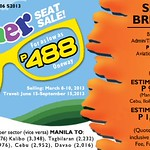 Zest Air Promo: Cheap fares from P188