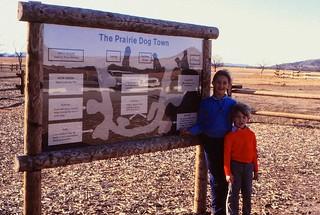 Oklahoma   -   Wichita Wildlife Refuge   -   Prairie Dog Town   -   Jessica & Jeb   -   November 1981