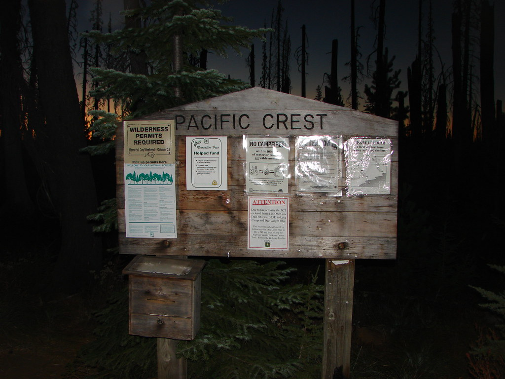Three Fingered Jack/PCT trailhead