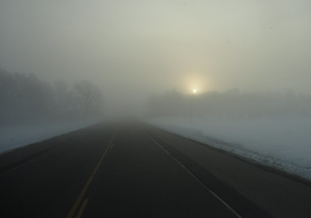 Foggy Sunrise - Northfield, MN