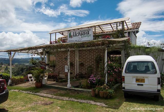 Uchuva Lounge in Santa Elena