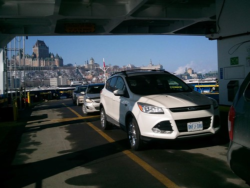 Ferry Ride - #LexGoFurther - A Ford Escape