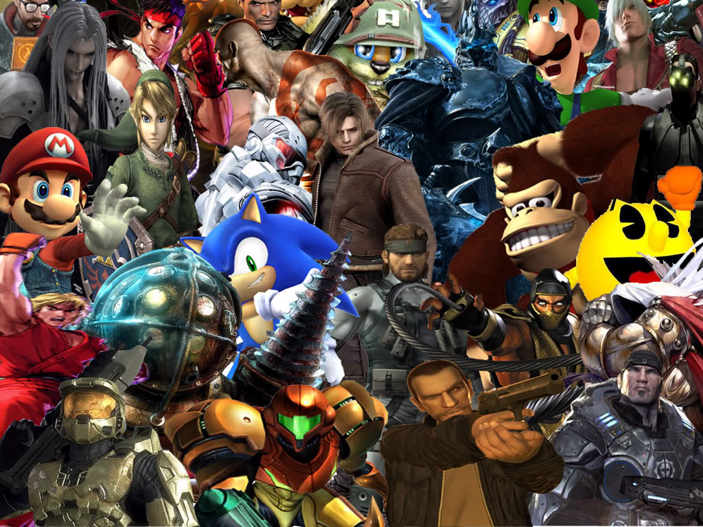 video game collage of champions this is my awesome