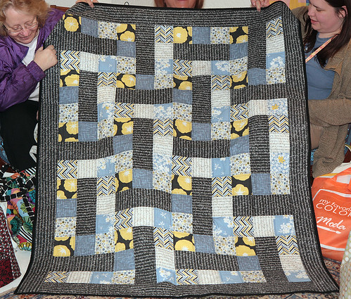 Mary's Madrona Road Challenge quilt