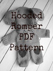 Hooded Doll Romper PDF Pattern