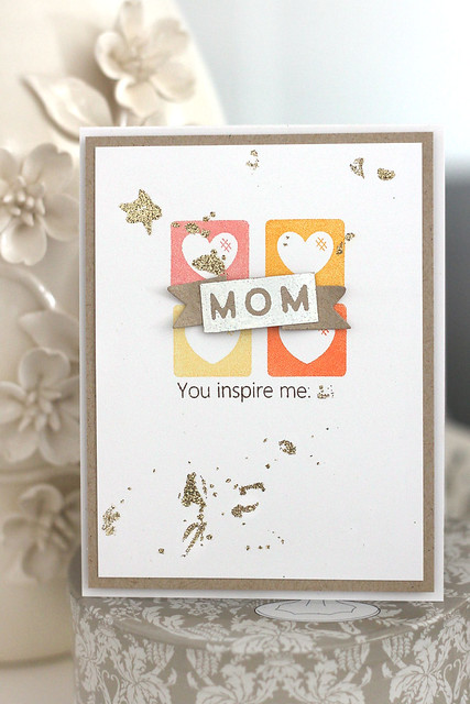 you inspire me, mom