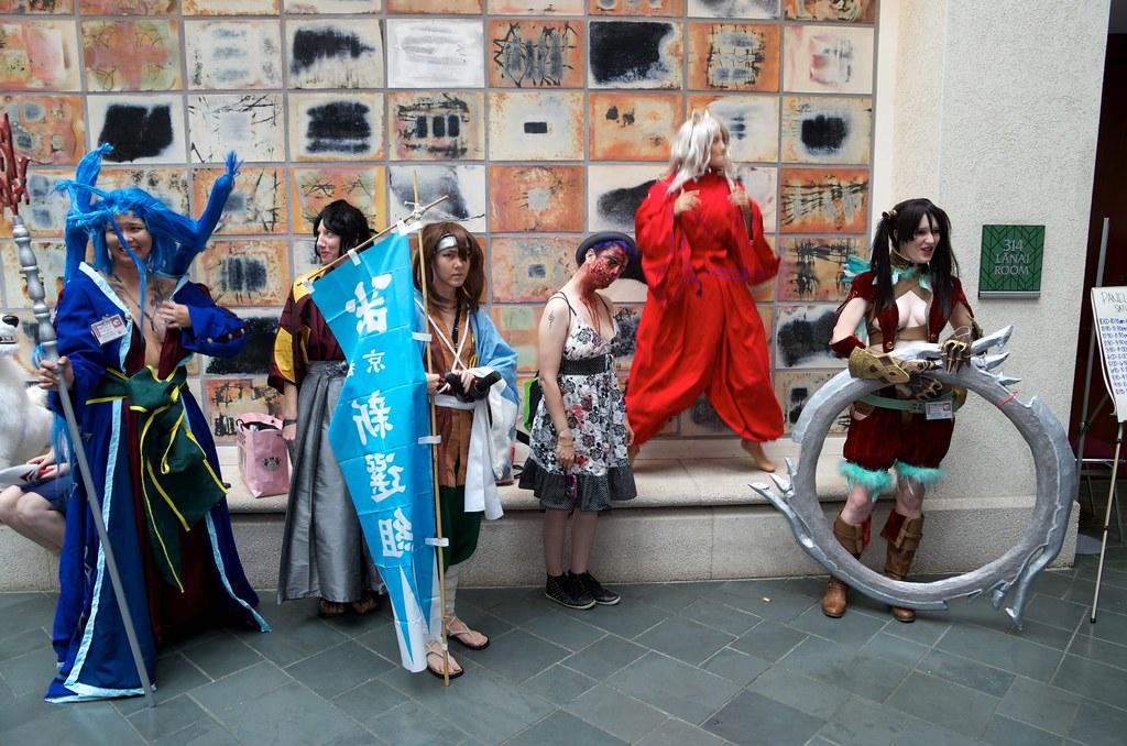 2013 Kawaii Kon 夏威夷動漫展第二日的 cosplay
