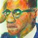 study of Malcolm X, No. 924 by blugumbo