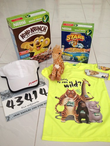 zoo run racepack