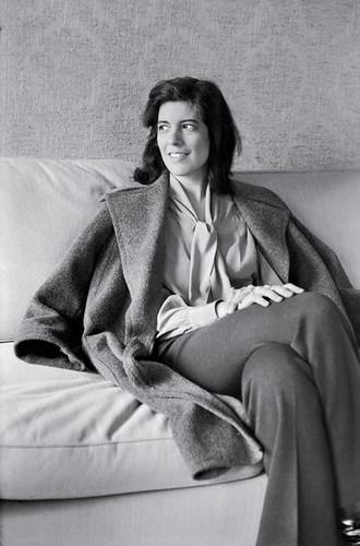 HCB took Susan Sontag, 1972