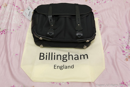 Billingham FibreNyte 307 與不織布套袋