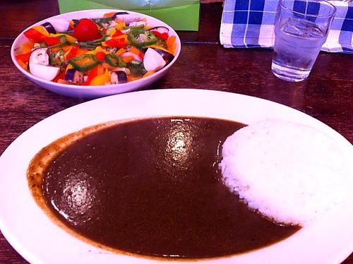 今日のランチはカレー。¥1500 #lunch