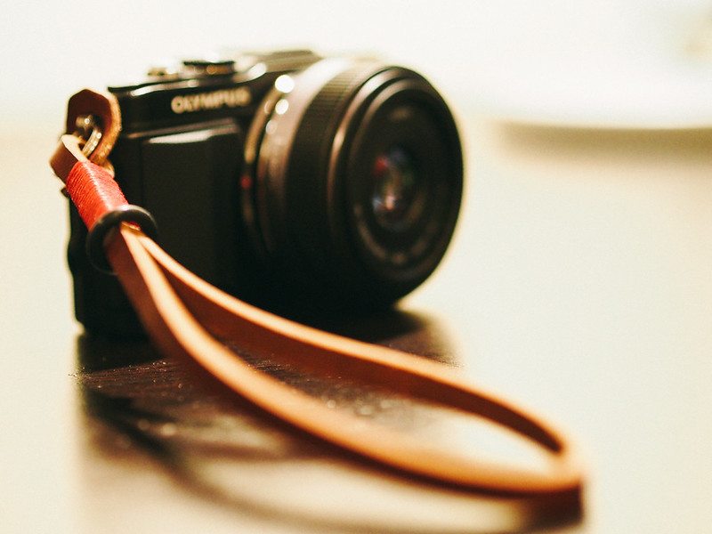 One of Gordy's Camera Straps