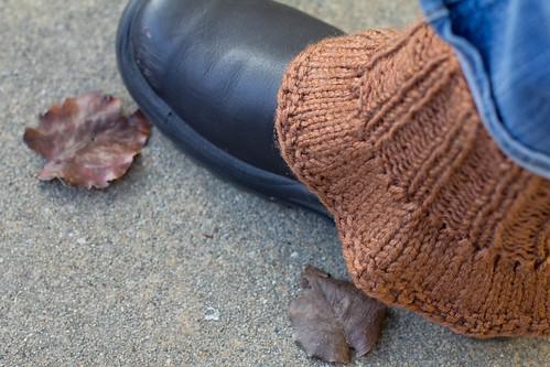 Ruffled spats