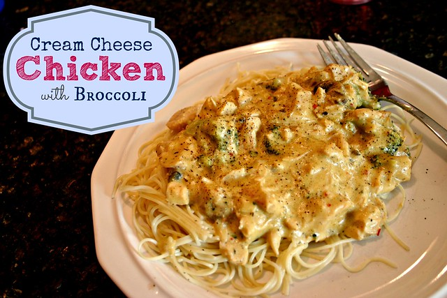 Cream Cheese Chicken with Broccoli
