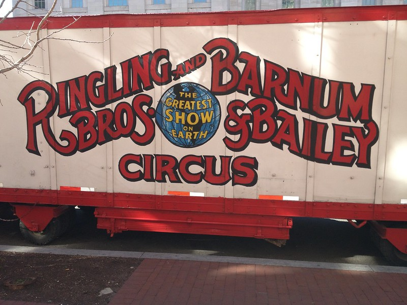 The Greatest Show on Earth - Ringling Brothers and Barnum and Bailey Circus trailer