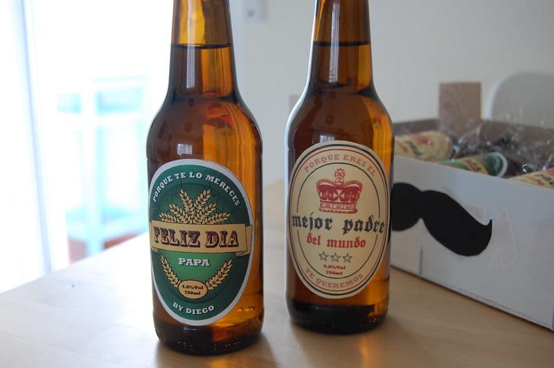 etiquetas cerveza día del padre