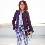 Thumbnail image for Banana Republic Mad Men Collection: Gingham Crop Pants