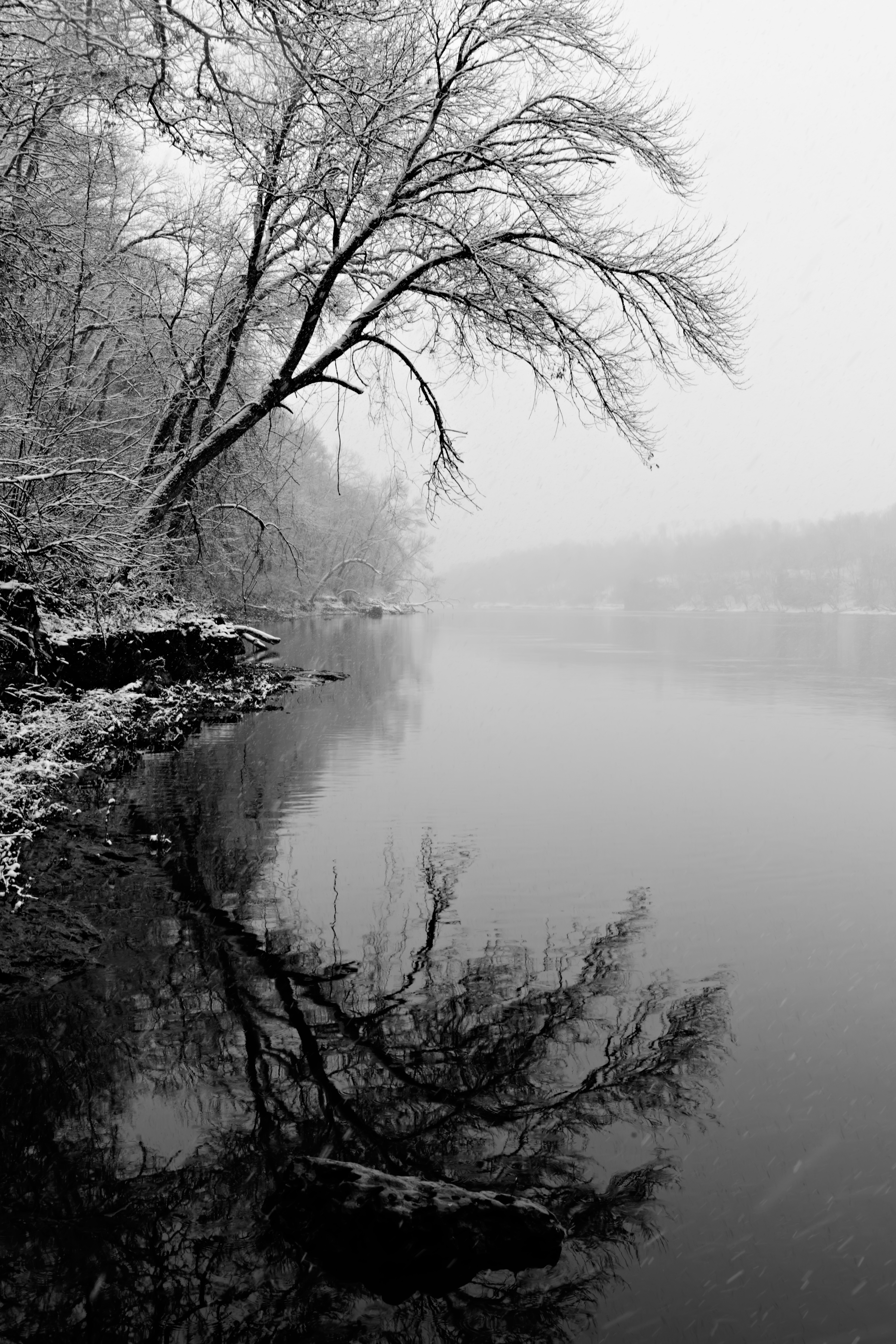 Mount Vernon (IA) United States  city images : blackandwhite reflection water landscape iowa symmetry cedarriver