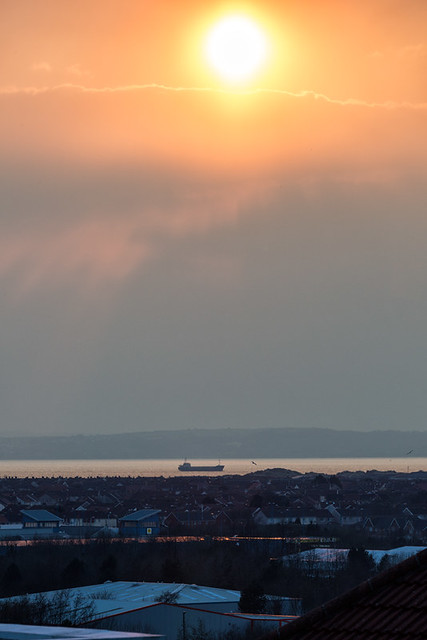 A-ship-passes-through-Swansea-Bay