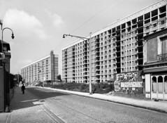 Habitations H.L.M, Le Chaperon vert, Arcueil-Gentilly en 1958