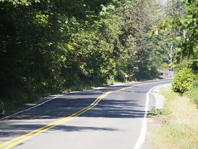 Repaved Enumclaw–Franklin Road: It was in pretty terrible shape previously.