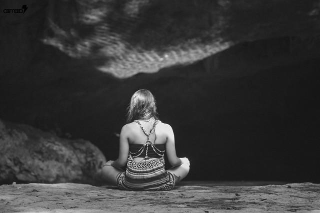 Cenote meditation