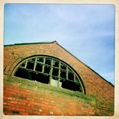 Derelict Factory Window, Stourbridge, West Midlands, UK