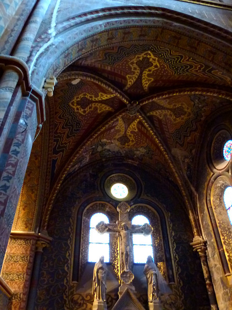 Budapest - jour 3 - 07 - Mátyás-templom (Eglise Matthias ou Église Notre-Dame-de-l'Assomption de Budavár)