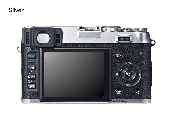 Fujifilm X100s back