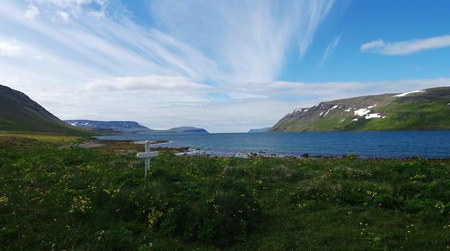 Day 8: Hiking along Hrafnfjörður fjord