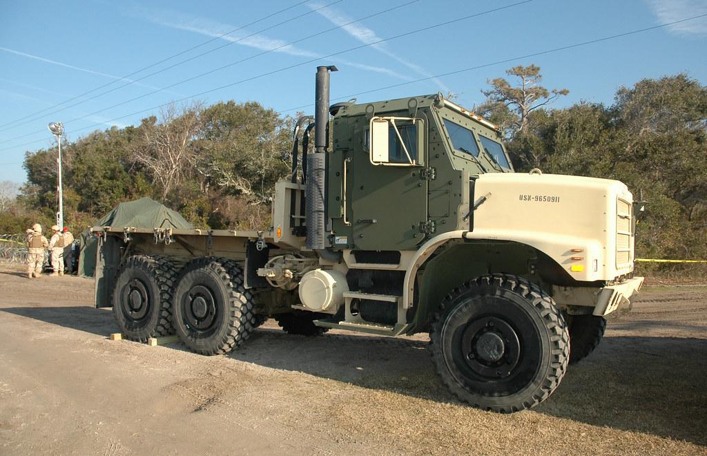 Us Navy Amk23 Cargo Truck
