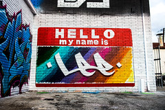 HELLO my name is Lee - AlvaGraphics GraffAlot | Houston Graffiti